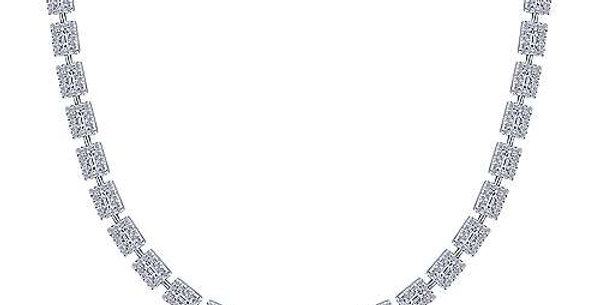 Gabriel & Co. Diamond Choker Necklace