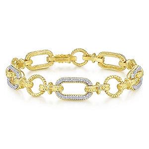 Gabriel & Co. Hampton Diamond Bracelet