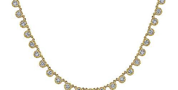 Gabriel & Co. Lusso Diamond Necklace