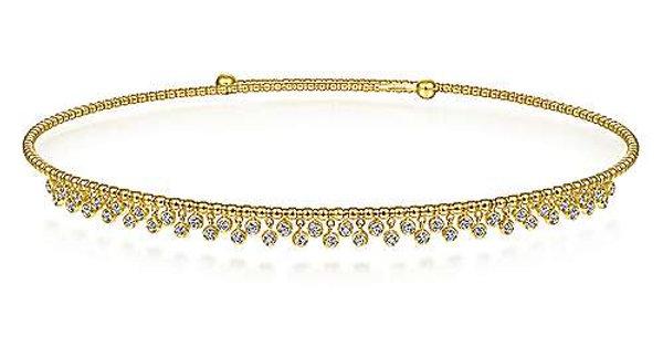 Gabriel & Co.- Bujunkan Diamond Choker Necklace