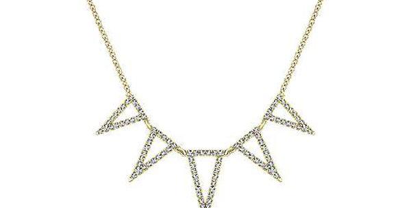 Gabriel & Co. Kaslique Diamond Necklace