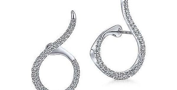 Gabriel & Co. - Kaslique Diamond Drop Earrings