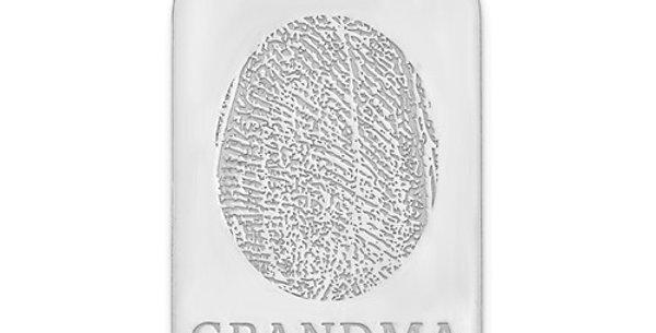 Fingerprint Dog Tag