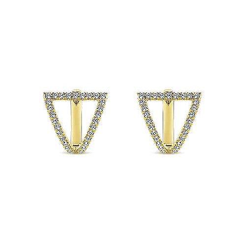 Gabriel & Co.- Kaslique Diamond Earrings