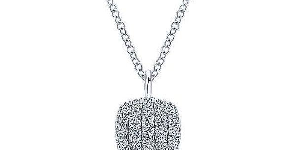 Gabriel & Co. - Diamond Cushion Necklace