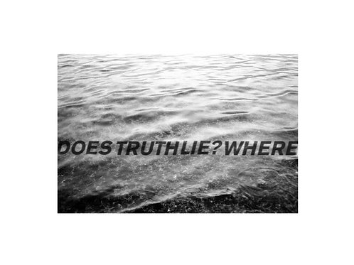 Katelyn Kopenhaver, DOES THE TRUTH LIE?, print