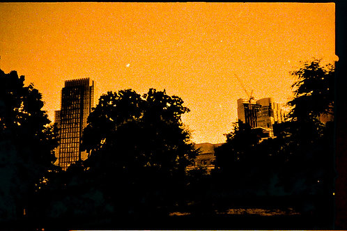 "Felicita Maynard, Untitled ""Orange"", from ""Changing NYC"""