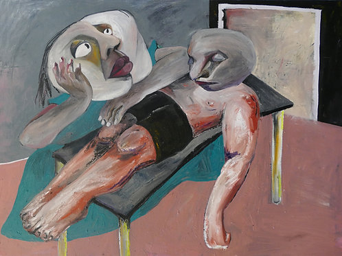 Hojan - Dying to Know You, Oil on Canvas