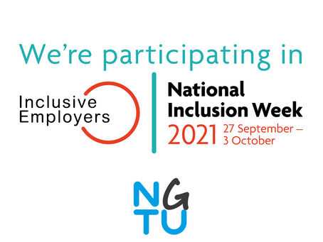 Not Going to Uni are taking part in National Inclusion Week 2021