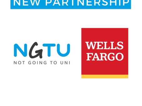 Wells Fargo Partner with Not Going to Uni