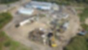 Demolition of water treatment plant in Corolla, North Carolina