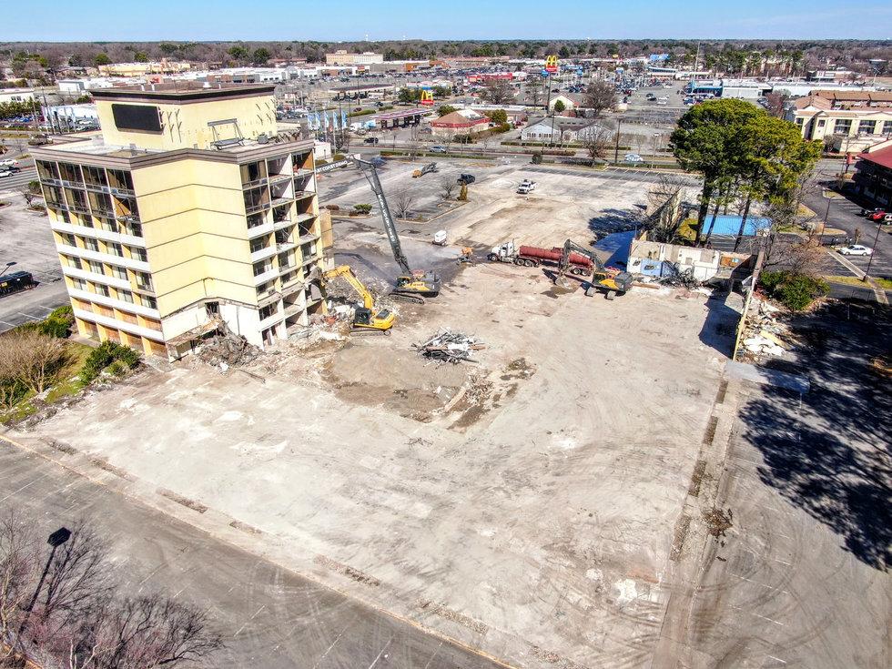 Hampton Hotel Demolition