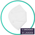 mascarillas reutilizables higienicas caja 5uni
