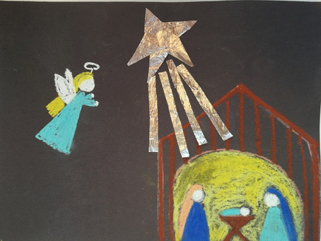 A SIMPLE, YET MEANINGFUL, NATIVITY ART PROJECT FOR CHILDREN!