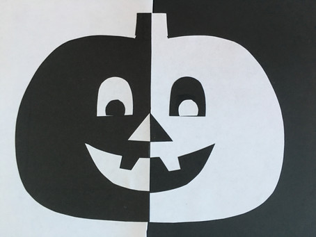 FUN FALL BLACK AND WHITE THEMED CENTER ACTIVITIES