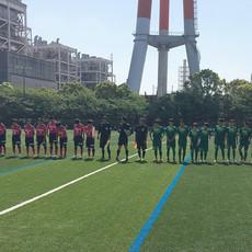 県クラブユース選手権決勝ラウンド第1戦の結果