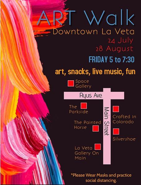 La Veta Art Walk Poster