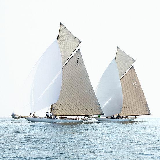 Mariska et Tuiga, classiques yachts