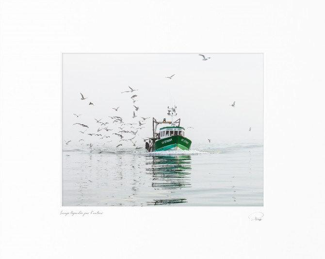 Petite pêche en baie de Quibéron