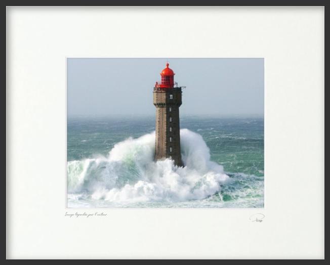 Le phare de la Jument, Finistère, Bretagne