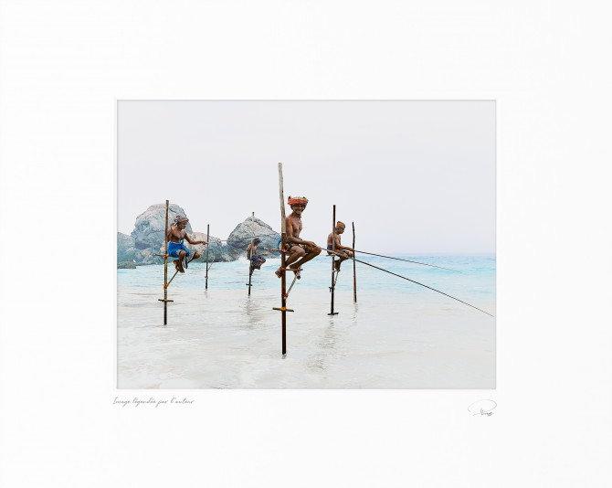 Pêcheurs, Sri-Lanka