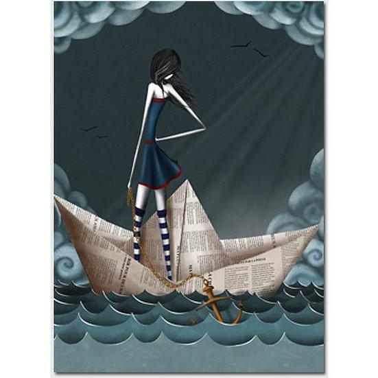 Le bateau de papier