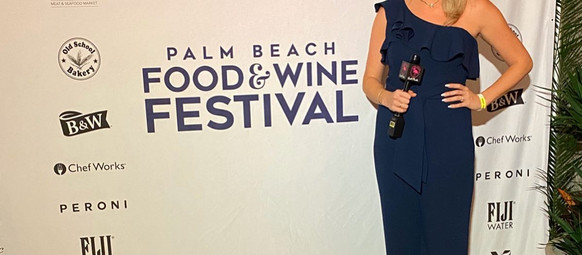 Living Local attends The Palm Beach Food and Wine Festival