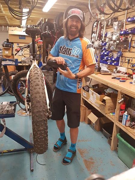 Smokestone Bikes owner Graham Foot