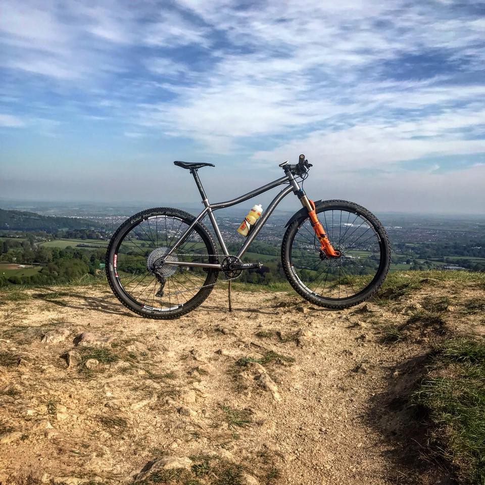 The Bow Ti in 29er XC mode