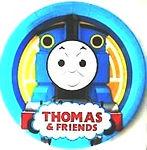 Thomas birthday party,thomas party balloons