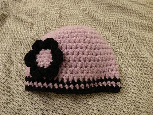 Bonnet pour petite fille sage- 1/3 mois