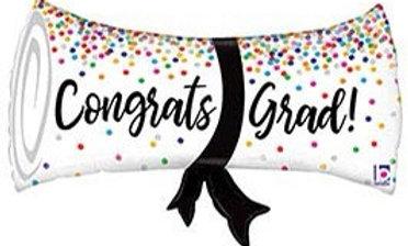Diploma Congrats Grad