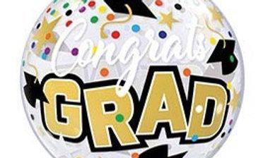 22' Bubble Congrats Grad