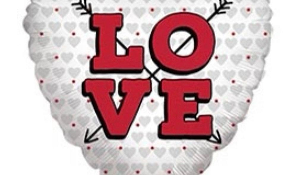 Valentine Love Balloon