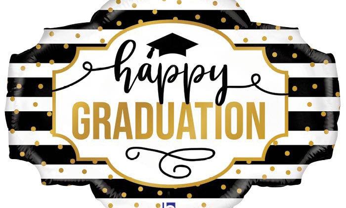 30' Happy Graduation