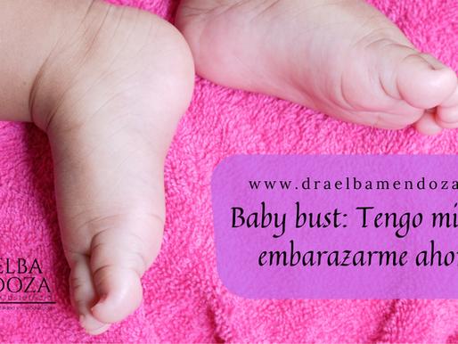 Baby bust: Tengo miedo de embarazarme ahorita