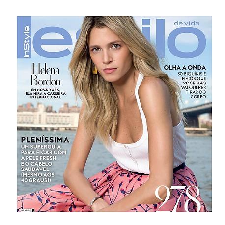 Revista Estilo Helena Bordon