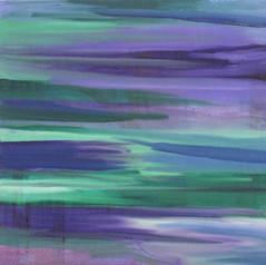 Purple Blue Sea - SOLD