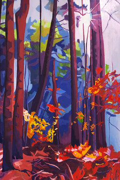 The Approach - For sale at Artisans Way - Oil on canvas, 24 x 36 - $1,900.
