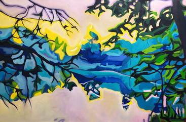 Between the Branches - SOLD
