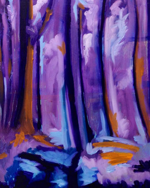 Forest Twilight - SOLD
