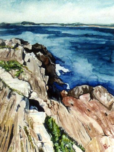 Bailey Island, Maine - Watercolor