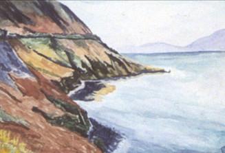 Coast of Ireland - Watercolor