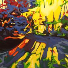 """Last - Oil on canvas, 20"""" x20"""" - $700"""