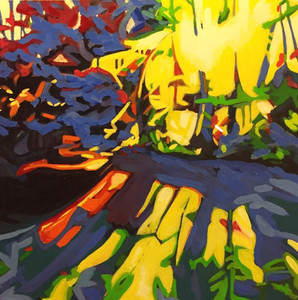 """Last - Oil on canvas, 20"""" x20"""" - $850"""