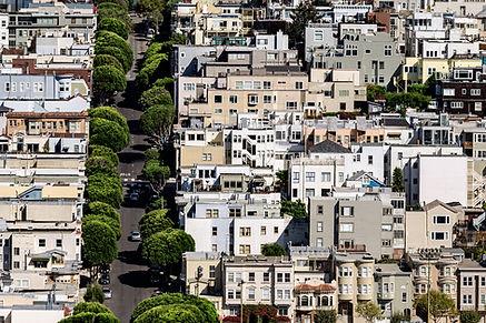city view of a neighborhood