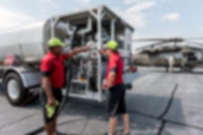 jet fuel truck line service augusta aviaton Daniel Field