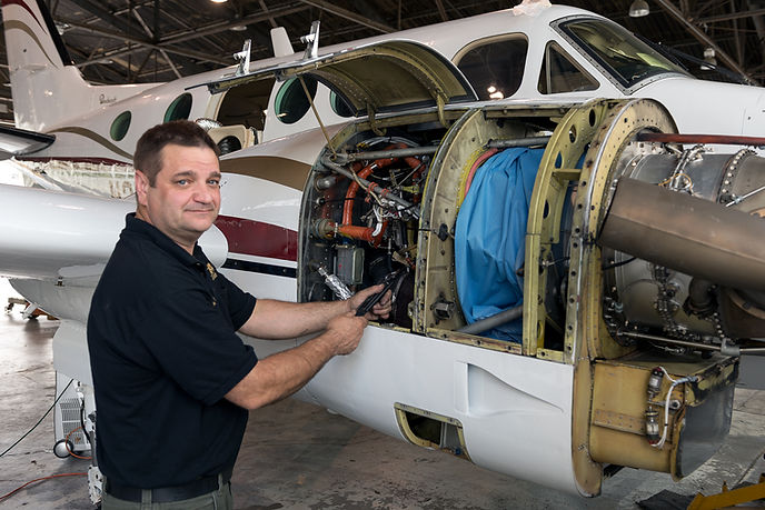 Brian Fry aircraft maintenance