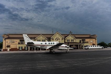 Augusta Aviation Charter service Kingair 90 limousine