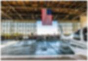 hangar door refurbish augusta aviation daniel field airport